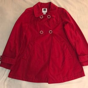 Red barely used Coat .
